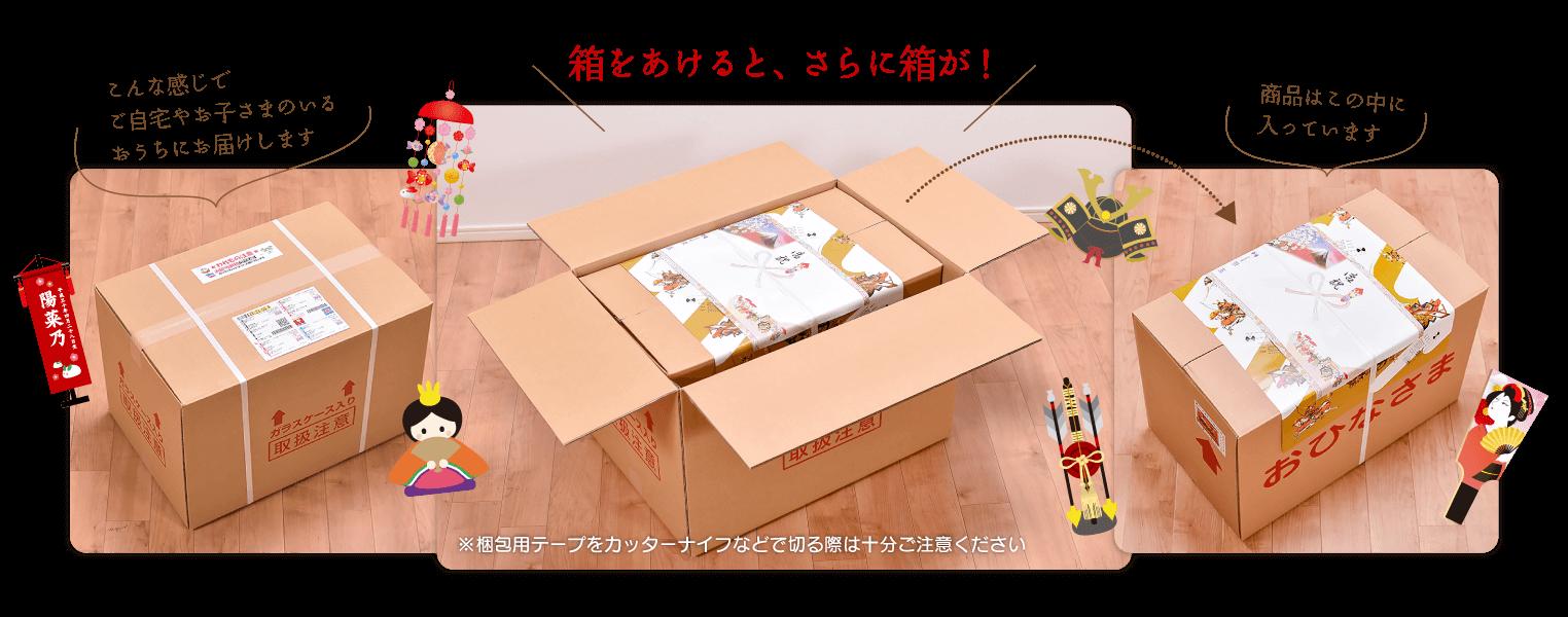 京玉・商品発送の梱包はていねい、キレイ